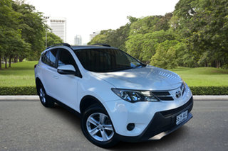 2013 Toyota RAV4 ZSA42R GX 2WD White 7 Speed Constant Variable Wagon.