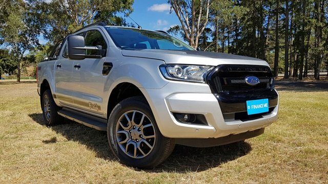 Used Ford Ranger PX MkII FX4 Double Cab Nuriootpa, 2017 Ford Ranger PX MkII FX4 Double Cab Silver 6 Speed Sports Automatic Utility