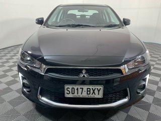 2017 Mitsubishi Lancer CF MY17 ES Sport Black 6 Speed Constant Variable Sedan.