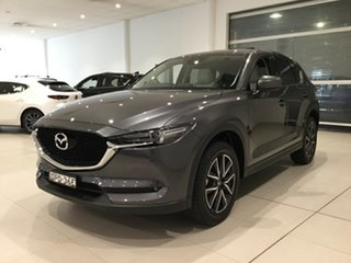 2017 Mazda CX-5 KF4WLA GT SKYACTIV-Drive i-ACTIV AWD Grey 6 Speed Sports Automatic Wagon