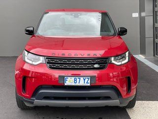 2017 Land Rover Discovery Series 5 L462 MY17 SE Red 8 Speed Sports Automatic Wagon