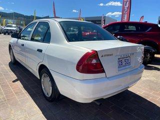 1999 Mitsubishi Lancer CE II GLXi White 4 Speed Automatic Sedan