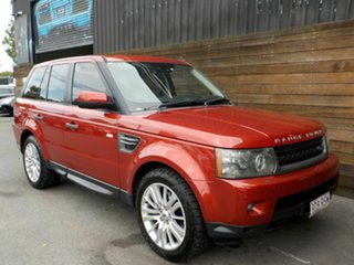 2011 Land Rover Range Rover Sport L320 11MY TDV6 Red 6 Speed Sports Automatic Wagon.