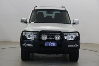 2017 Mitsubishi Pajero NX MY17 Exceed White 5 Speed Sports Automatic Wagon.