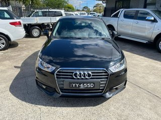 2015 Audi A1 8X MY15 Sport Sportback S Tronic Black 7 Speed Sports Automatic Dual Clutch Hatchback.