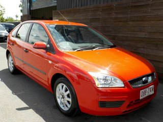 2005 Ford Focus LS CL Red 4 Speed Sports Automatic Hatchback.