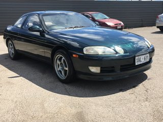 1991 Toyota Soarer JZZ30 Turbo Green 4 Speed Automatic Coupe.