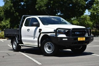 2017 Ford Ranger PX MkII XL White 6 Speed Manual Cab Chassis.