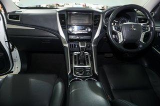 2019 Mitsubishi Pajero Sport QE MY19 Exceed (4x4) 7 Seat White 8 Speed Automatic Wagon.