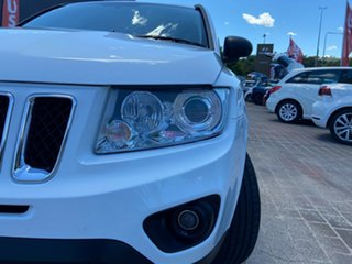 2012 Jeep Compass MK MY12 Sport CVT Auto Stick White 6 Speed Constant Variable Wagon