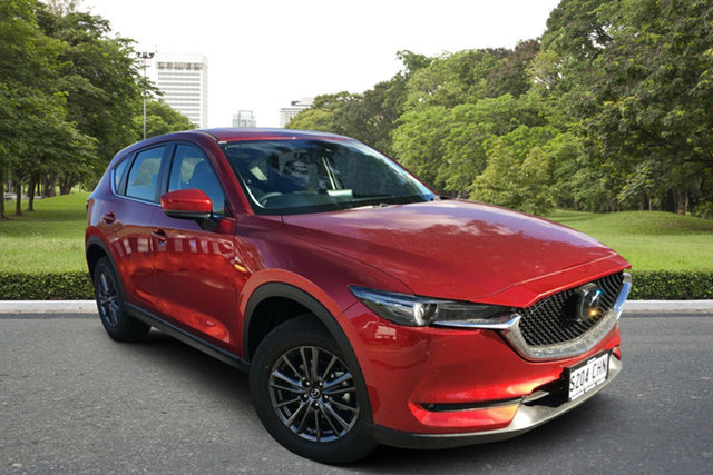 Demo Mazda CX-5 KF2W7A Maxx SKYACTIV-Drive FWD Sport Paradise, 2020 Mazda CX-5 KF2W7A Maxx SKYACTIV-Drive FWD Sport Soul Red 6 Speed Sports Automatic Wagon