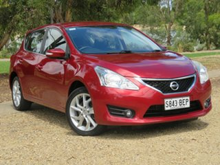 2013 Nissan Pulsar C12 ST-S Red 6 Speed Manual Hatchback.