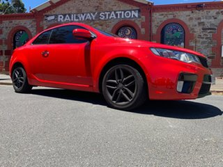 2011 Kia Cerato TD MY11 Koup SLS Red/Black 6 Speed Manual Coupe