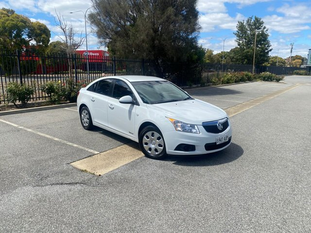 Used Holden Cruze JH Series II MY12 CD Mile End, 2012 Holden Cruze JH Series II MY12 CD White 6 Speed Sports Automatic Sedan