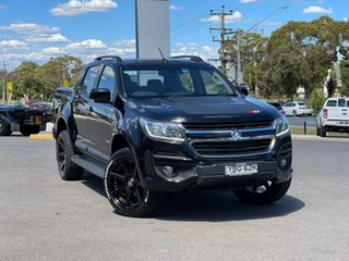2016 Holden Colorado Z71 Black Sports Automatic Dual Cab Utility.
