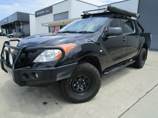 2014 Mazda BT-50 UP0YF1 XT Black 6 Speed Manual Utility.