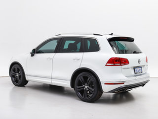 2016 Volkswagen Touareg 7P MY16 V8 TDI R-Line White 8 Speed Automatic Wagon