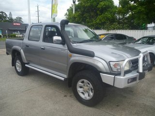 2003 Toyota Hilux VZN167R MY02 SR5 Silver 4 Speed Automatic Utility.