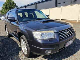 2007 Subaru Forester 79V MY07 XT AWD Grey 4 Speed Automatic Wagon.