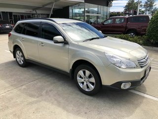 2012 Subaru Outback B5A MY12 2.5i Lineartronic AWD Gold 6 Speed Constant Variable Wagon.