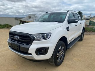 2020 Ford Ranger PX MkIII 2020.75MY Wildtrak White 10 Speed Sports Automatic Double Cab Pick Up