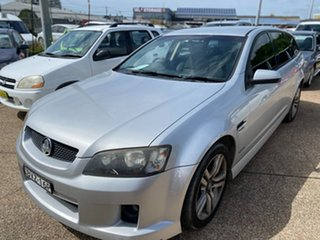 2010 Holden Commodore VE MY10 SV6 Sportwagon Silver 6 Speed Sports Automatic Wagon.
