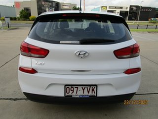 2018 Hyundai i30 PD MY19 Go White 6 Speed Sports Automatic Hatchback
