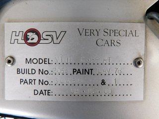 2000 Holden Special Vehicles ClubSport VT II Silver 6 Speed Manual Sedan