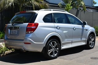 2016 Holden Captiva CG MY16 LTZ AWD Silver 6 Speed Sports Automatic Wagon