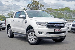 2020 Ford Ranger PX MkIII 2020.25MY XLT Arctic White 6 Speed Sports Automatic Double Cab Pick Up.