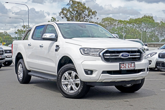 Used Ford Ranger PX MkIII 2020.25MY XLT Ebbw Vale, 2020 Ford Ranger PX MkIII 2020.25MY XLT Arctic White 6 Speed Sports Automatic Double Cab Pick Up