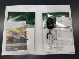 2011 Toyota Kluger GSU40R MY11 KX-S 2WD Crystal Pearl 5 Speed Sports Automatic Wagon