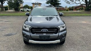 2020 Ford Ranger PX MkIII 2020.25MY Wildtrak Meteor Grey 10 Speed Sports Automatic.