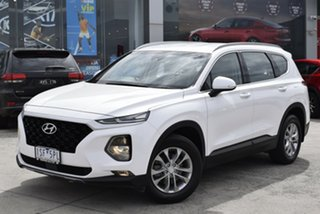 2018 Hyundai Santa Fe TM MY19 Active White 8 Speed Sports Automatic Wagon.