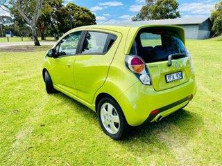 2010 Holden Barina TK MY11 Green 5 Speed Manual Hatchback