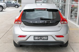 2016 Volvo V40 M Series MY16 D2 Adap Geartronic Kinetic Silver 6 Speed Sports Automatic Hatchback