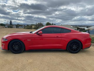 2018 Ford Mustang FN 2019MY GT Red 6 Speed Manual Fastback