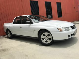 2003 Holden Crewman VY II White 4 Speed Automatic Utility.