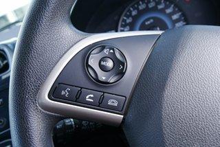 2015 Mitsubishi Mirage LA MY15 ES Black/Grey 5 Speed Manual Hatchback