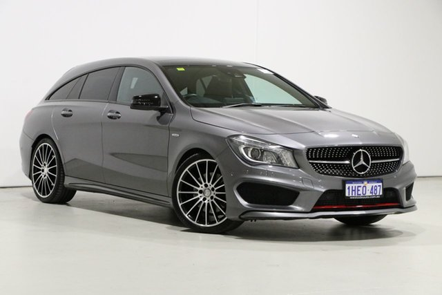 Used Mercedes-Benz CLA250 Shooting Brake 117 4Matic Bentley, 2015 Mercedes-Benz CLA250 Shooting Brake 117 4Matic Grey 7 Speed Auto Dual Clutch Wagon