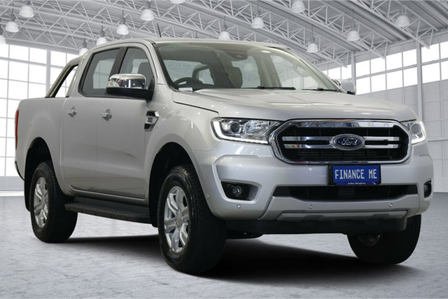 Used Ford Ranger PX MkIII 2019.00MY XLT Victoria Park, 2018 Ford Ranger PX MkIII 2019.00MY XLT Silver 10 Speed Sports Automatic Utility