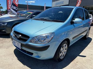 2009 Hyundai Getz TB MY09 SX Blue 5 Speed Manual Hatchback.