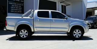 2011 Toyota Hilux KUN26R MY10 SR5 Silver 4 Speed Automatic Utility