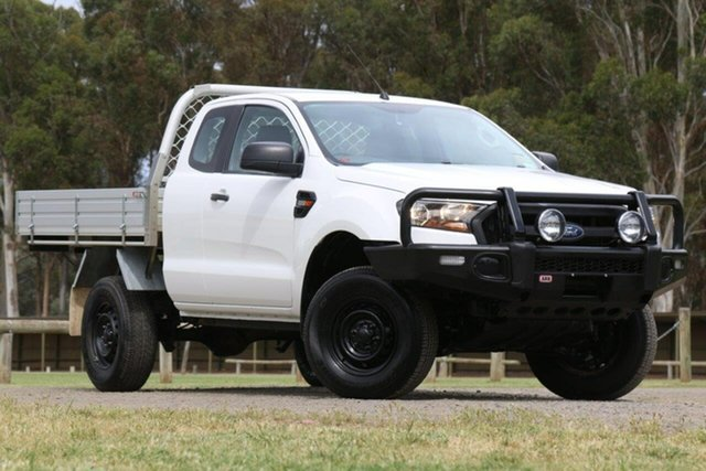 Used Ford Ranger PX MkII XL Hi-Rider Clare, 2016 Ford Ranger PX MkII XL Hi-Rider White 6 Speed Sports Automatic Cab Chassis