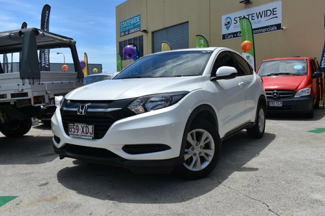 Used Honda HR-V MY17 VTi-S Capalaba, 2017 Honda HR-V MY17 VTi-S White Continuous Variable Wagon