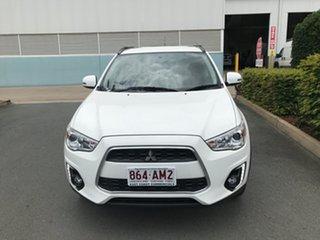 2016 Mitsubishi ASX XB MY15.5 LS 2WD White 6 speed Automatic Wagon.