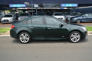 2014 Holden Cruze JH MY14 SRi Green 6 Speed Automatic Sedan.