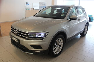 2020 Volkswagen Tiguan 5N MY20 132TSI DSG 4MOTION Comfortline Tungsten Silver 7 Speed.