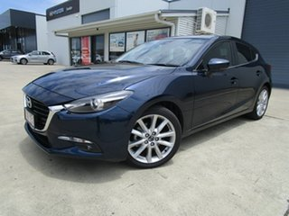 2018 Mazda 3 BN5436 SP25 SKYACTIV-MT GT Blue 6 Speed Manual Hatchback.