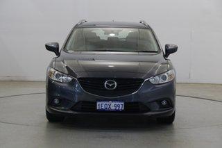 2014 Mazda 6 GJ1031 MY14 Sport SKYACTIV-Drive Grey 6 Speed Sports Automatic Wagon.